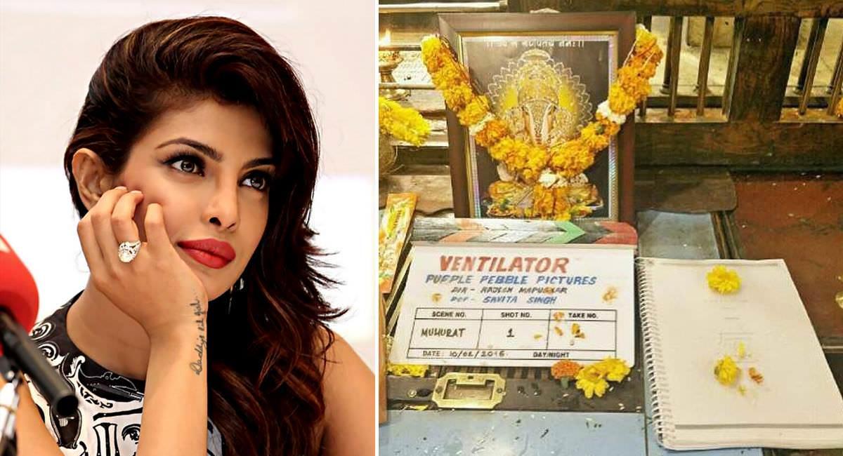 Shooting Started For Priyanka Chopra's First Marathi Film