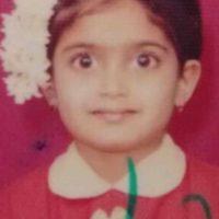 Isha Keskar childhood photo