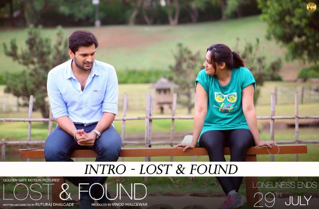 Lost and Found Marathi movie Intro Teaser - Spruha Joshi, Siddharth Chandekar