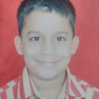 Saksham Kulkarni childhood photo