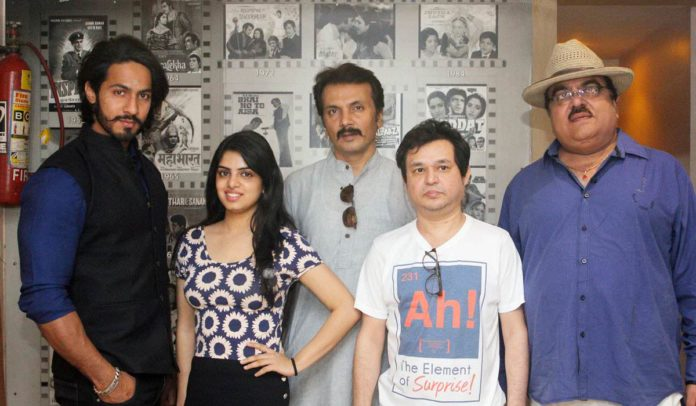 Southern actor Anup Singh sings for a Marathi song