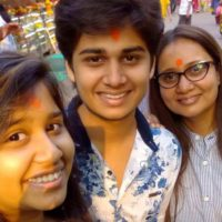 Laxmikant Berde (Lakshya) Family