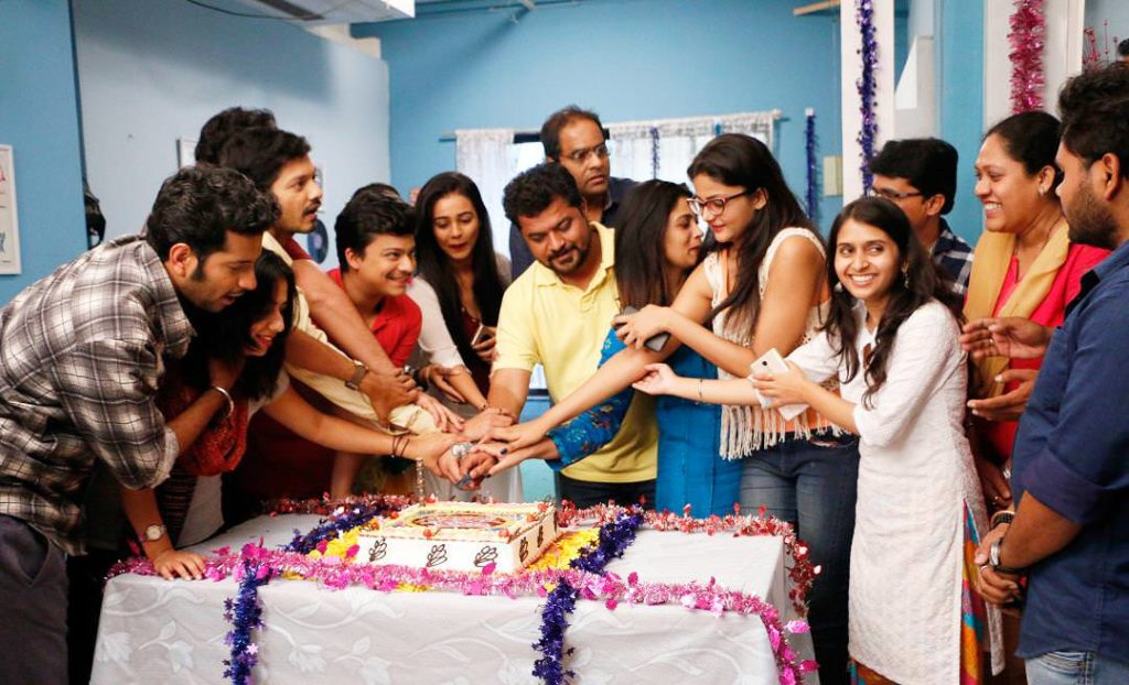 Love Lagna Locha Serial Team