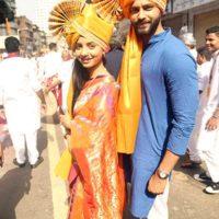 Rushi Saxena & Sayali Sanjeev - Gudhi Padwa