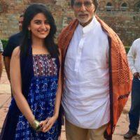Vaidehi Parshurami with Amitabh Bacchan - Wazir Movie