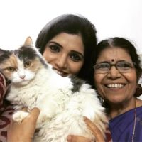 Mukta Barve With Her Mother